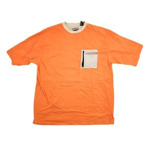 Enyce Shirt Men's 2XL Orange Graphic Logo Pocket